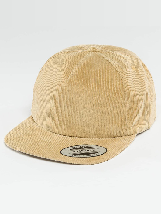 Flexfit Snapback Cap Premium Corduroy khaki