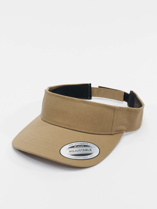 Flexfit snapback cap Curved Visor khaki