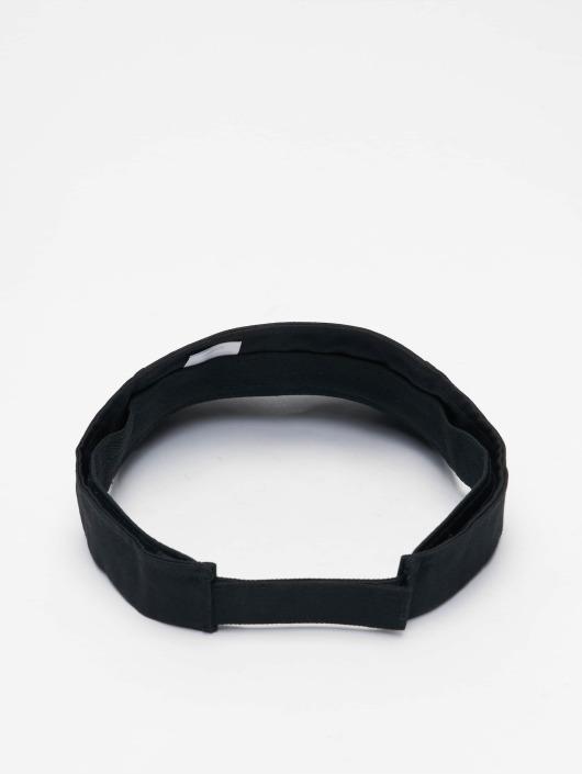 Flexfit Snapback Cap Curved Visor nero