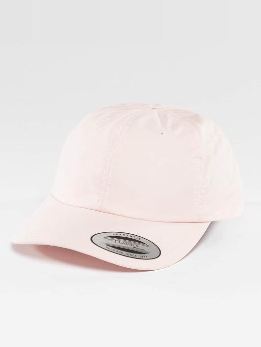Flexfit Snapback Cap Low Profile Washed pink