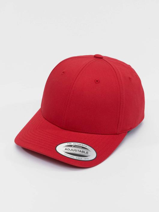 Flexfit Snapback Cap Curved Classic red