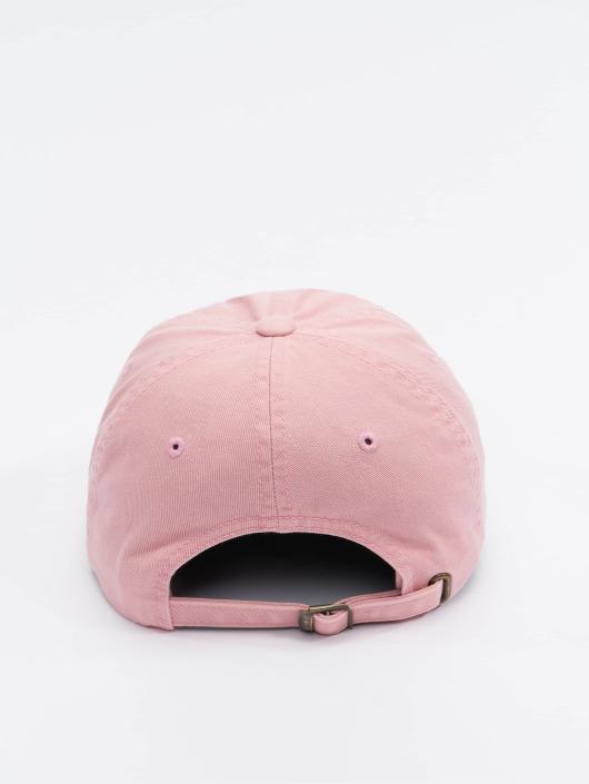 Flexfit Snapback Cap Low Profile Destroyed rosa