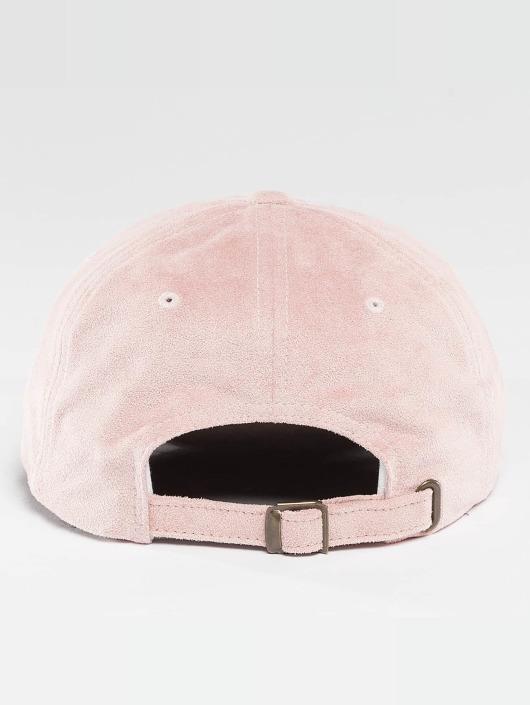 Flexfit Snapback Cap Low Profile Velours rosa
