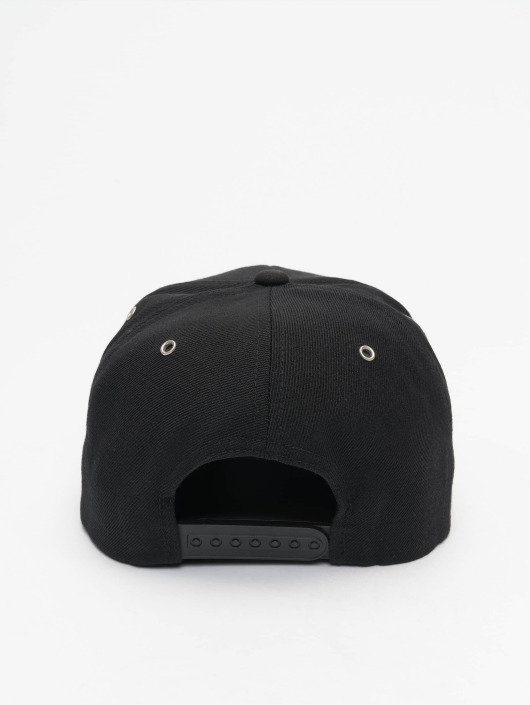 Flexfit Snapback Cap Boots Suede schwarz