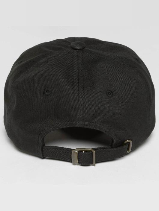 Flexfit Snapback Cap Low Profile Cotton Twill Kids schwarz