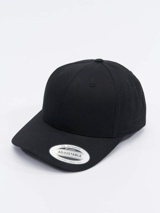 Flexfit Snapback Cap Curved Classic schwarz