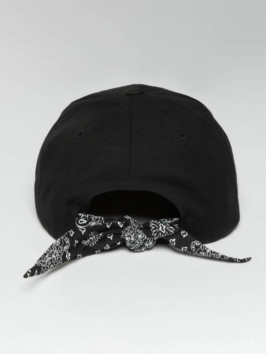 Flexfit Snapback Cap Bandana Tie schwarz