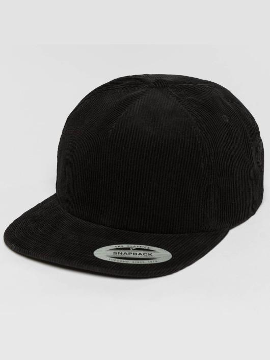 Flexfit Snapback Cap Premium Corduroy schwarz