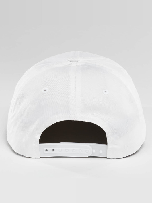 Flexfit Snapback Cap Curved Classic weiß