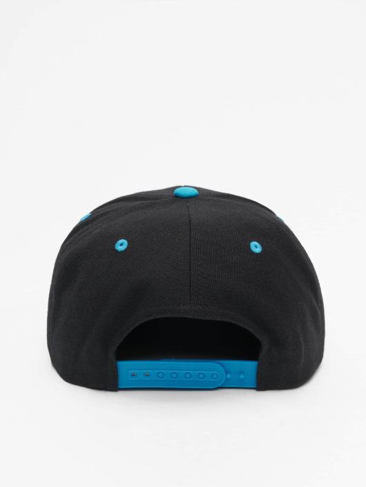 Flexfit Snapback Caps Classic Two Tone čern