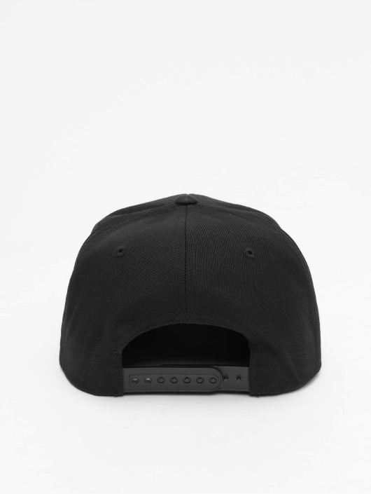 Flexfit Snapback Caps Cheched Flanell Peak čern