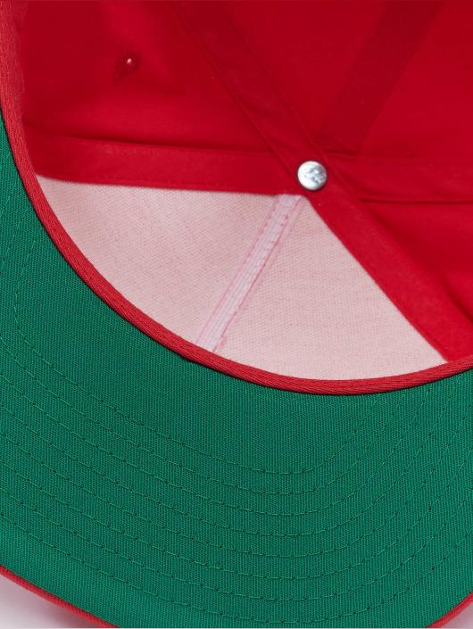 Flexfit Snapback Caps Classic 5 Panel červený