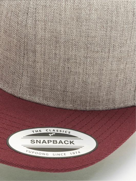Flexfit Snapback Caps Classic Two Tone šedá