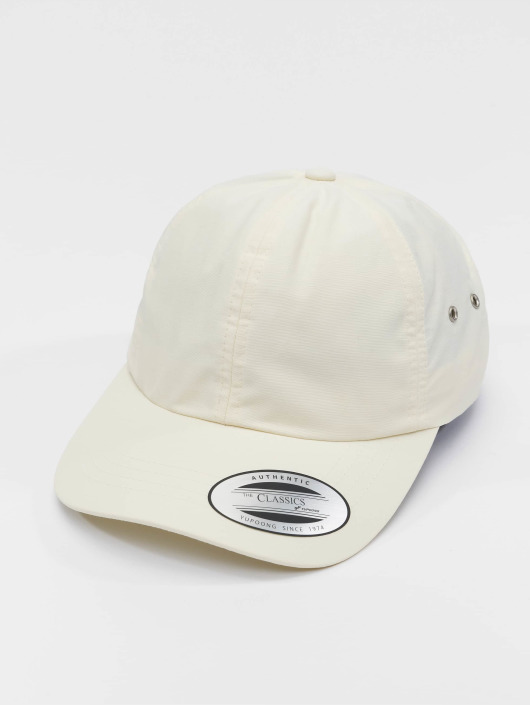 Flexfit Snapback Caps Low Profile Water Repellent bezowy