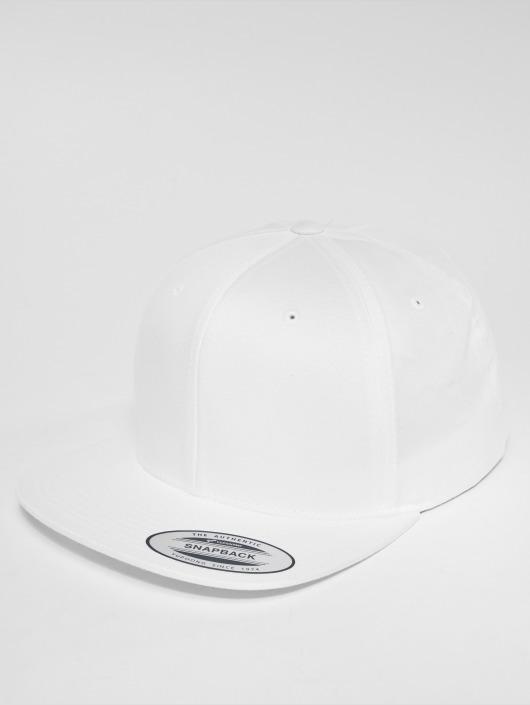 Flexfit Snapback Caps Organic Cotton bialy