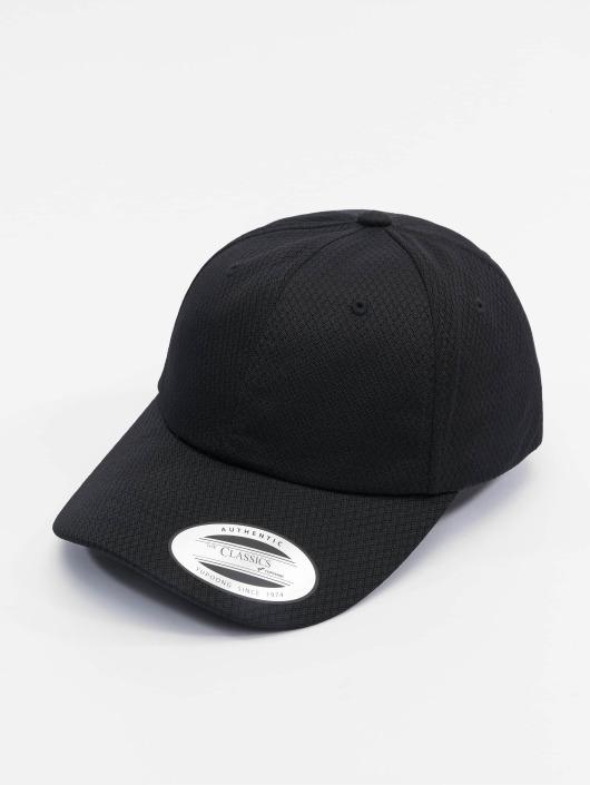 Flexfit Snapback Caps Honeycomb Dad czarny