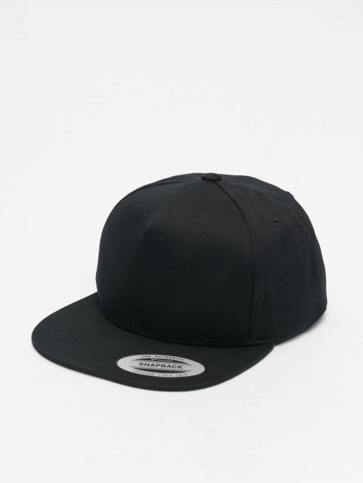 Flexfit Snapback Caps Classic 5 Panel czarny