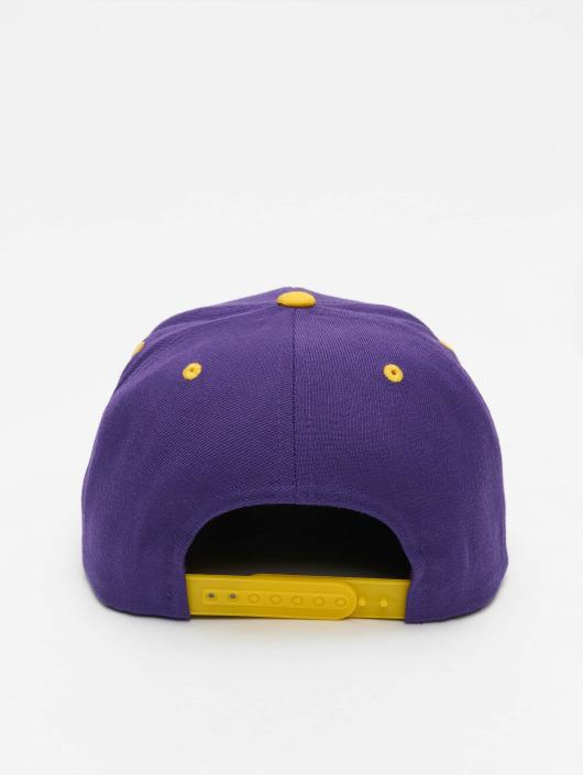 Flexfit Snapback Caps Classic Two Tone fialový