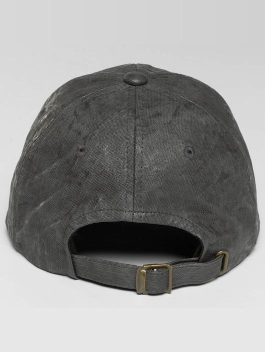 Flexfit Snapback Caps Low Profile Coated grå