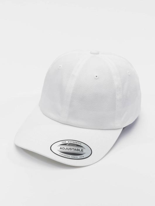 Flexfit Snapback Caps Low Profile Organic Cotton hvit