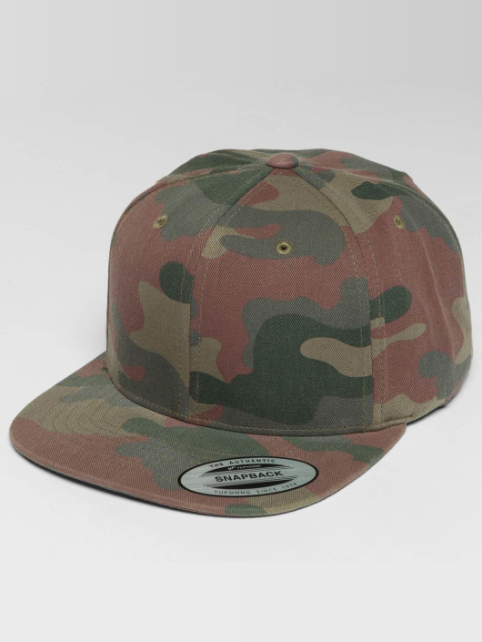 Flexfit Snapback Caps Camo Cotton kamuflasje