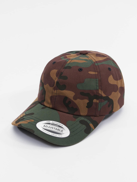 Flexfit Snapback Caps Low Profile Cotton Twill kamuflasje