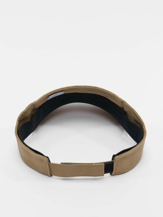 Flexfit Snapback Caps Curved Visor khaki