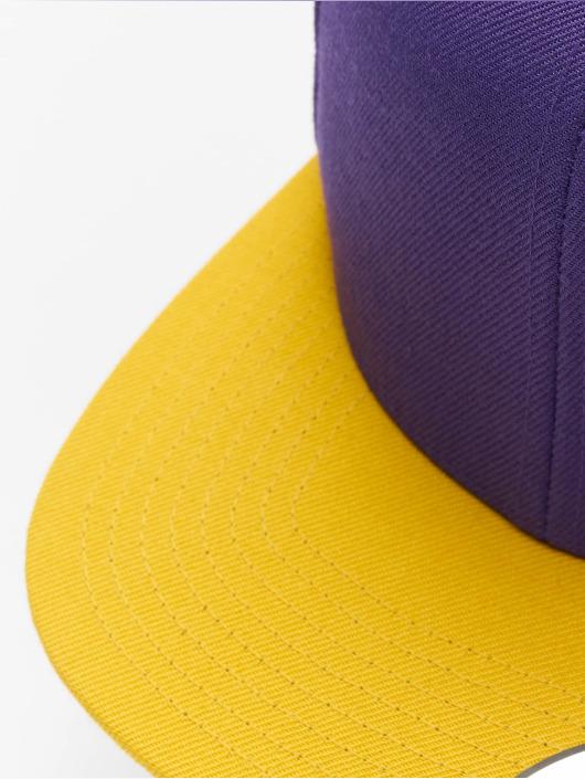 Flexfit Snapback Caps Classic Two Tone lilla