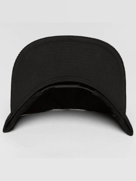 Flexfit Snapback Caps Premium Corduroy musta