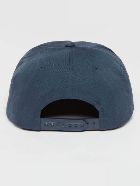 Flexfit Snapback Caps Unstructured niebieski