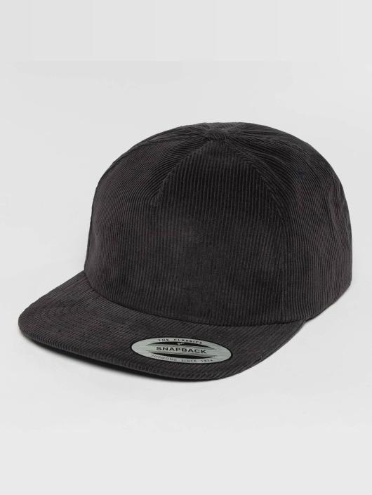 Flexfit Snapback Caps Premium Corduroy niebieski