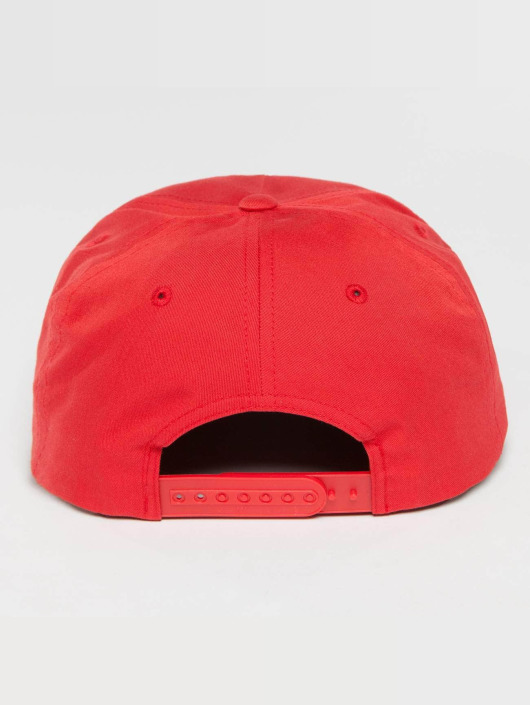 Flexfit Snapback Caps Unstructured red