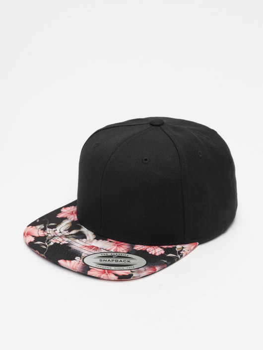 Flexfit Snapback Caps Floral svart