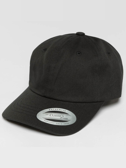 Flexfit Snapback Caps Low Profile Cotton Twill Kids svart