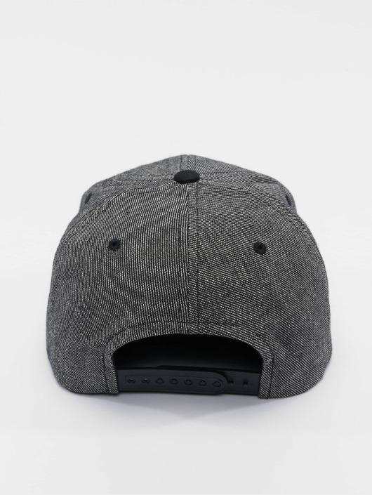 Flexfit Snapback Caps Solid Melange svart