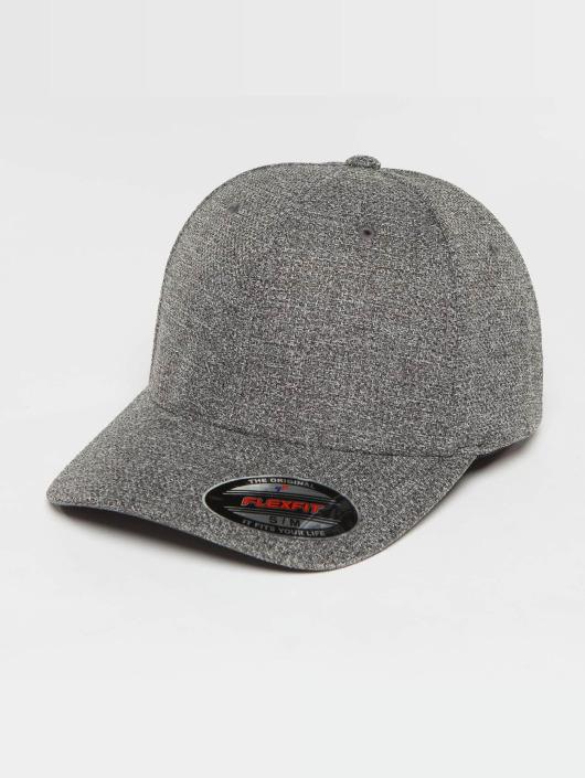 Flexfit Snapback Caps Melange szary