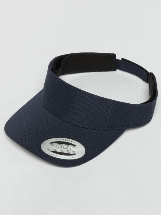 Flexfit Snapback Curved Visor modrá