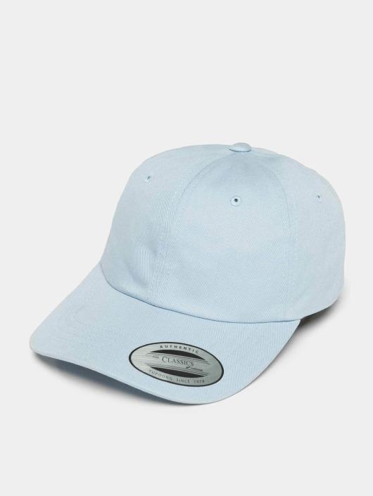 Flexfit Snapbackkeps Low Profile Cotton Twil blå