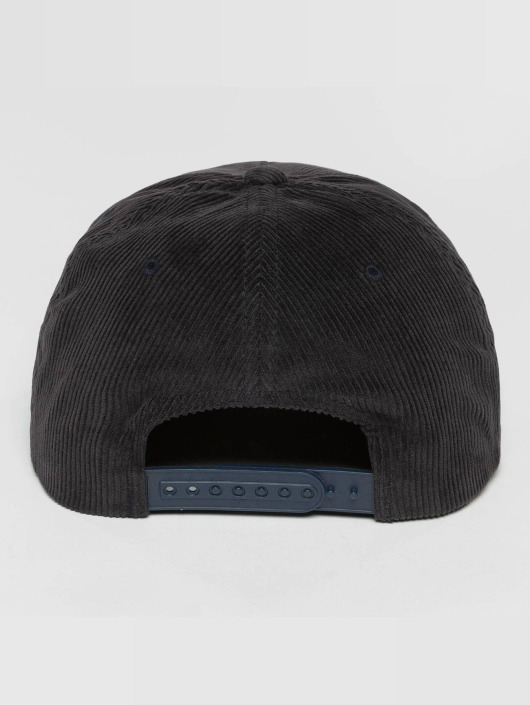 Flexfit Snapbackkeps Premium Corduroy blå