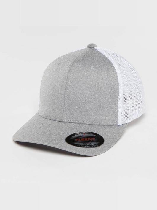 Flexfit Trucker Cap Melange gray
