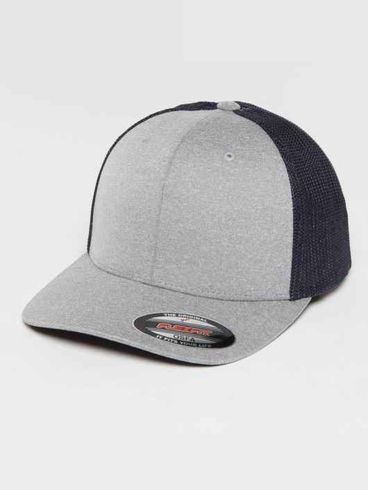 Flexfit Trucker Cap Melange grey