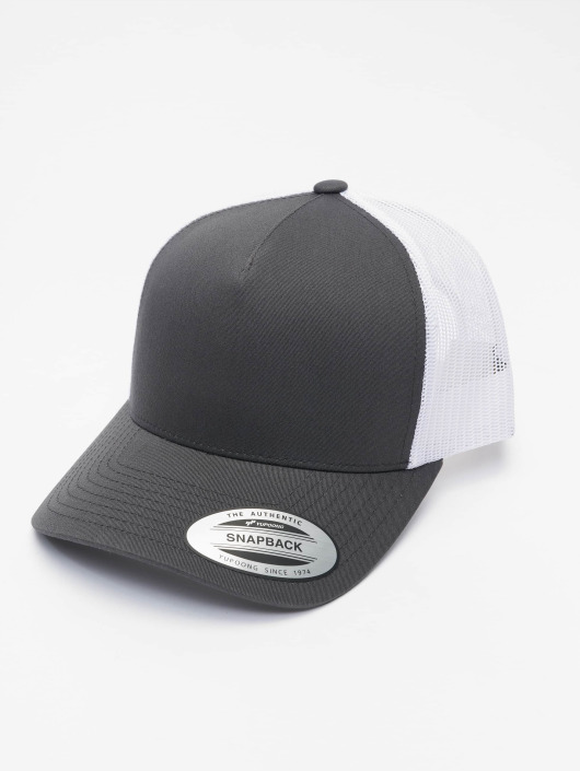 Flexfit Trucker Cap 2-Tone Retro grey