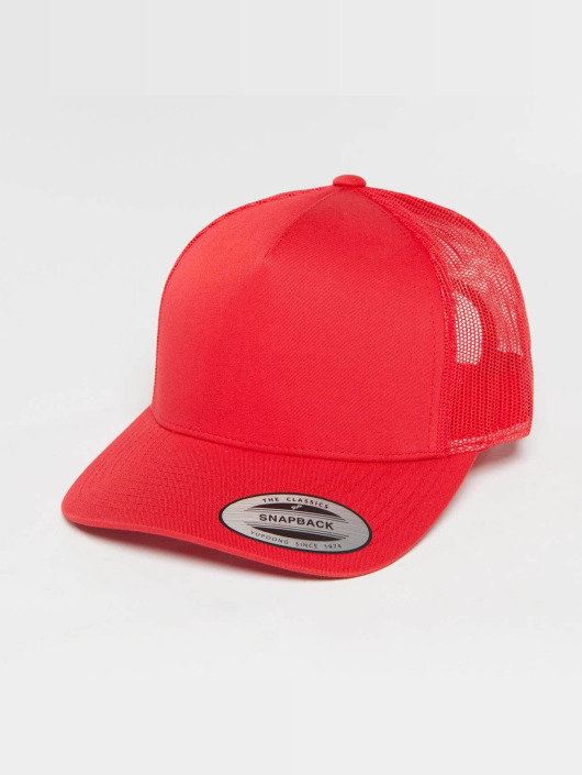 Flexfit Trucker Cap Retro red