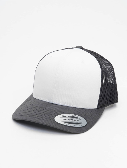 Flexfit Trucker Caps Retro Colored Front grå