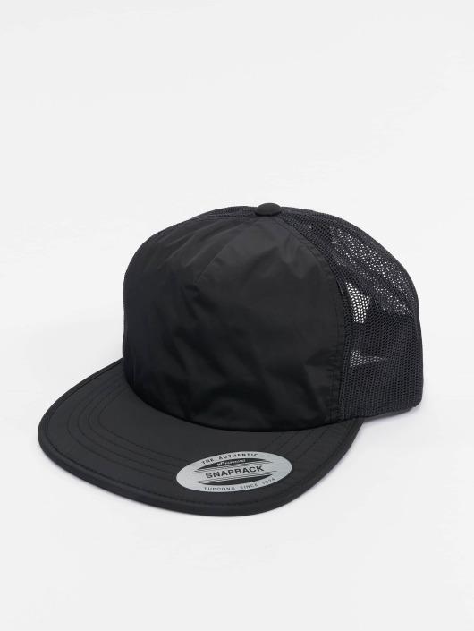 Flexfit Trucker Caps Unstructured svart