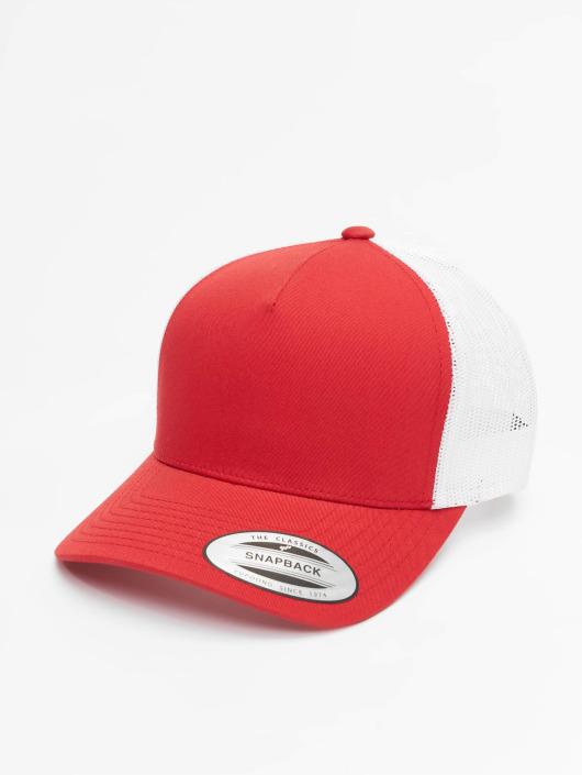 Flexfit Truckerkeps 2-Tone Retro röd