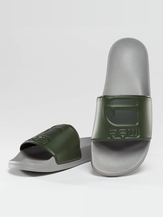 G-Star Footwear Slipper/Sandaal Cart Slide grijs