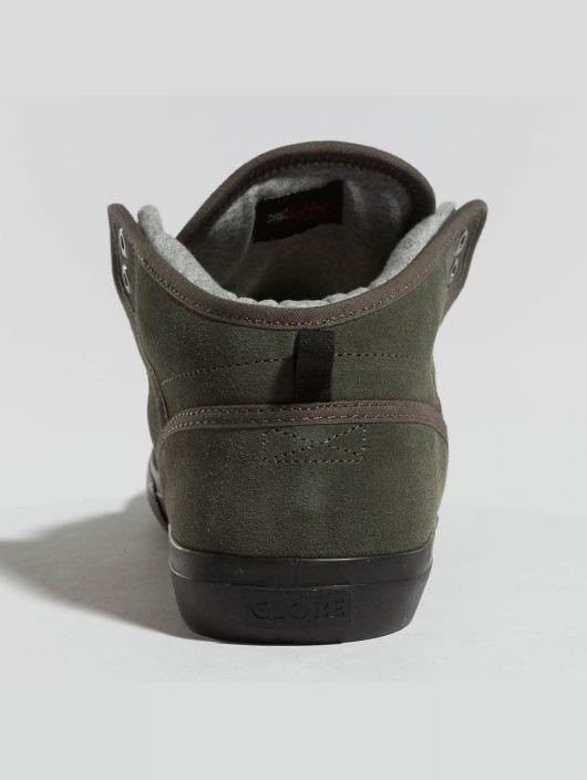 Globe sneaker Motley Mid olijfgroen