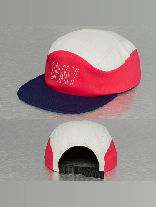 Grimey Wear 5 Panel Caps Rock Creek biela