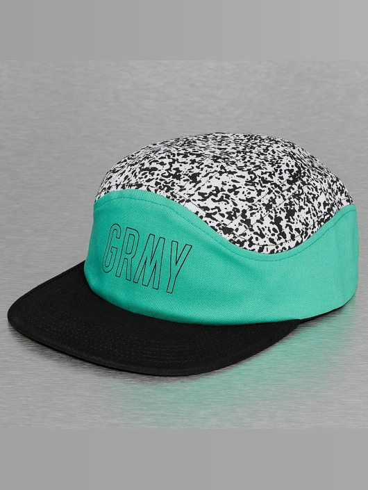 Grimey Wear 5 Panel Caps Rock Creek pestrá